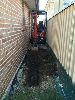 Tight Access Excavation | All Plumbing Works | Western Sydney & Hills District